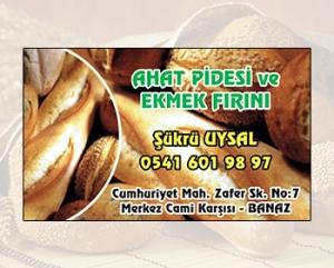 Ahat Pidesi ve Ekmek Fırını