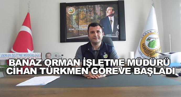 Banaz Orman İşletme Müdürü Cihan Türkmen Göreve Başladı