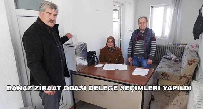Banaz Ziraat Odası Delege Seçimleri Yapıldı