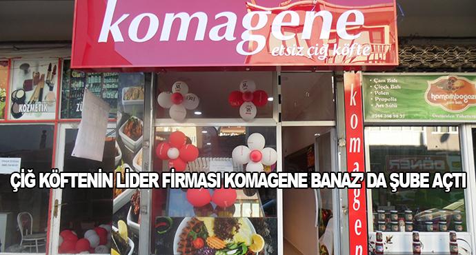 Çiğ Köftenin Lider Firması Komagene Banaz'da Şube Açtı
