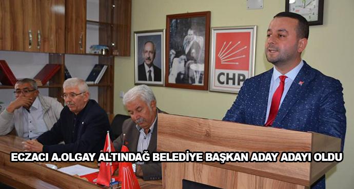 Eczacı A.Olgay Altındağ Belediye Başkan Aday Adayı Oldu