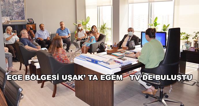 Ege Bölgesi Uşak' Ta Egem   Tv De Buluştu