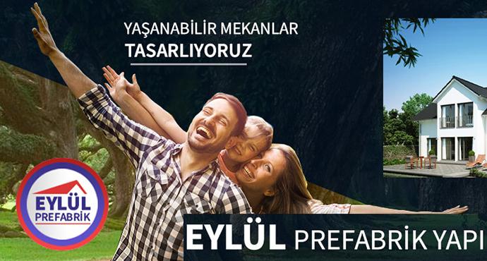 Eylül Prefabrik Yapıda Şok Kampanyalar!