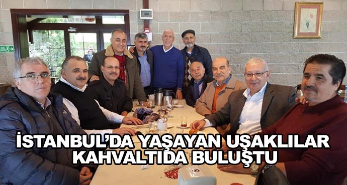İstanbul'da Yaşayan Uşaklılar Kahvaltıda Buluştu
