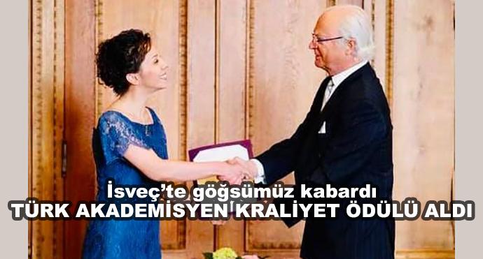 İsveç'te Göğsümüz Kabardı Türk Akademisyen Kraliyet Ödülü Aldı