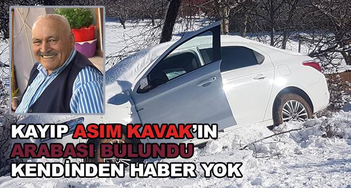 Kayıp Asım Kavak'ın Arabası Bulundu Kendinden Haber Yok