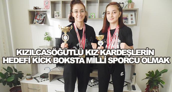 Kızılcasöğütlü Kız Kardeşlerin Hedefi Kick Boksta Milli Sporcu Olmak