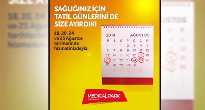 Medical Park Uşak Hastanesi Tatilde Hizmetinizde