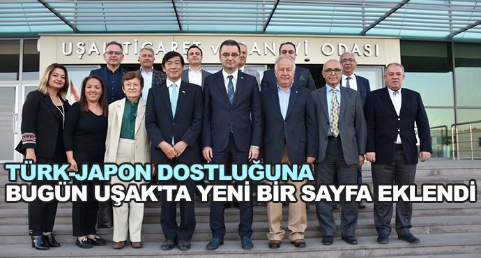 Türk-Japon Dostluğuna Bugün Uşak'ta Yeni Bir Sayfa Eklendi