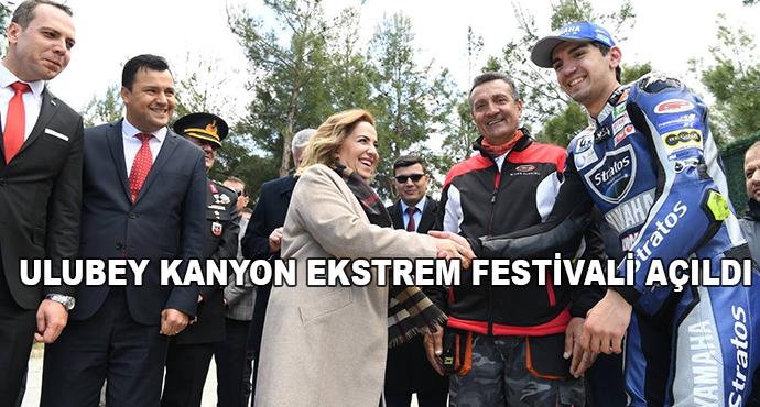 Ulubey Kanyon Ekstrem Festivali Açıldı