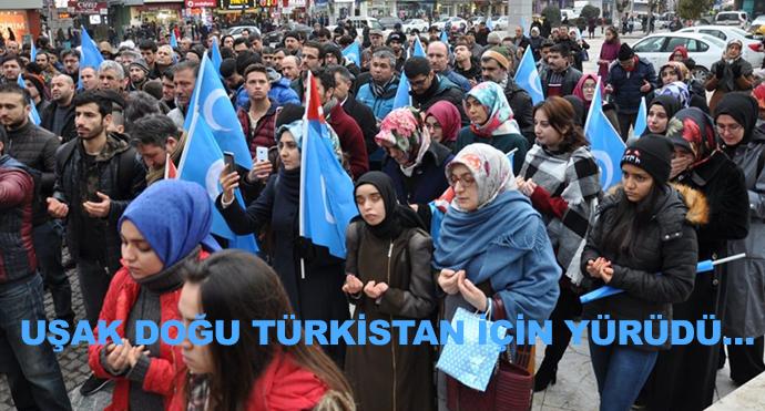 Uşak Doğu Türkistan İçin Yürüdü…