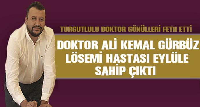 Uşak Medical Park Hastanesi Genel Müdürü Ali Kemal Gürbüz, Lösemi Hastası Genç Kıza Yardım Eli Uzattı