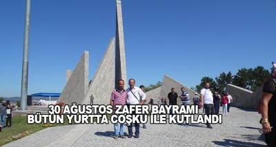 30 Ağustos Zafer Bayramı Bütün Yurtta Coşku İle Kutlandı