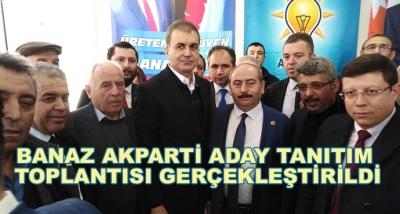 Banaz Akparti Aday Tanıtım Toplantısı Gerçekleştirildi