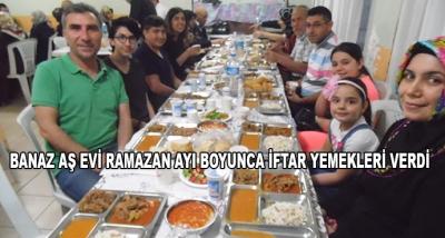Banaz Aş Evi Ramazan Ayı Boyunca İftar Yemekleri Verdi