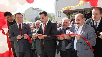 Banaz Atatürk  Kültür Sarayı Sosyal Tesisleri Hizmete Açıldı