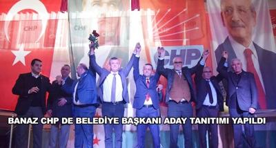 Banaz Chp De Belediye Başkanı Aday Tanıtımı Yapıldı