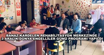Banaz Kardelen Rehabilitasyon Merkezinde 3 Aralık Dünya Engelliler Günü Programı Yapıldı