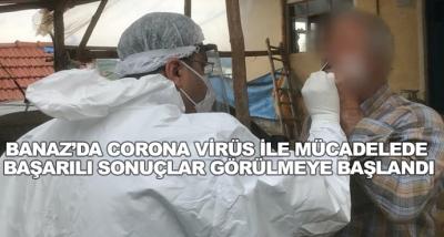 Banaz'da Corona Virüs İle Mücadelede Başarılı Sonuçlar Görülmeye Başlandı
