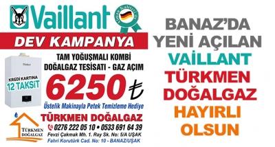 Banaz'da Yeni Açılan Vaillant Türkmen Doğalgaz Hayırlı Olsun