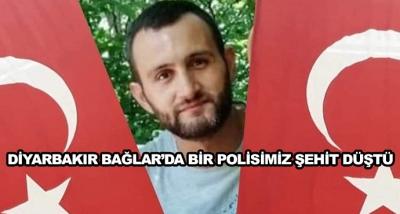 Diyarbakır Bağlar'da Bir Polisimiz Şehit Düştü
