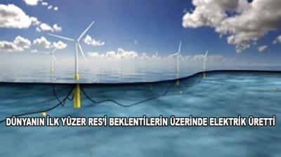 Dünyanın İlk Yüzer Res'i Beklentilerin Üzerinde Elektrik Üretti