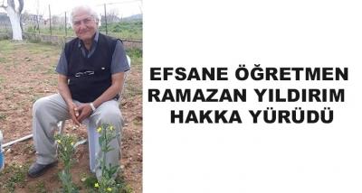 Efsane Öğretmen Ramazan Yıldırım  Hakka Yürüdü
