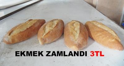 Ekmek Zamlandı 3tl
