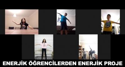 Enerjik Öğrencilerden Enerjik Proje