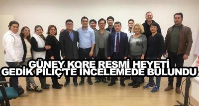Güney Kore Resmi Heyeti Gedik Piliç'te İncelemede Bulundu