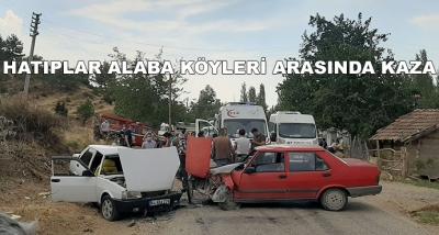 Hatıplar Alaba Köyleri Arasında Kaza