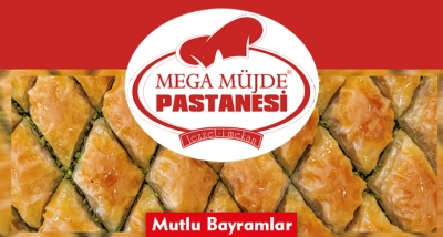 Mega Müjde Pastanesi Bayram Mesajı