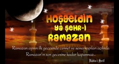 On Bir Ayın Sultanı Ramazan Ayı Tüm İslam Alemine Mübarek Olsun