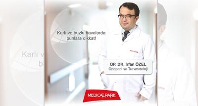 Ortopedi ve Travmatoloji Uzmanı Op. Dr. İrfan ÖZEL