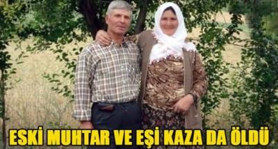 Reşadiyeli Eski Muhtar ve Eşi Kazada Öldü