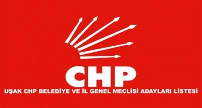 Uşak Chp Belediye Ve İl Genel Meclisi Adayları Listesi
