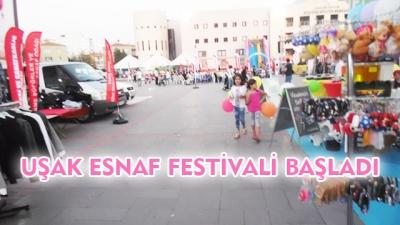 Uşak Esnaf Festivali Başladı