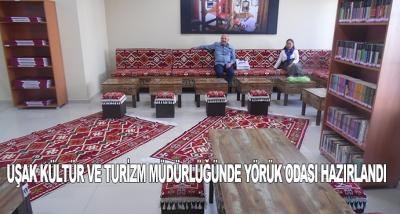 Uşak Kültür Ve Turizm Müdürlüğünde Yörük Odası Hazırlandı