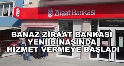 Ziraat Bankası Yeni Binasında Hizmet Vermeye Başladı
